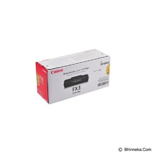 CANON Black Toner FX-3 - Toner Printer Canon
