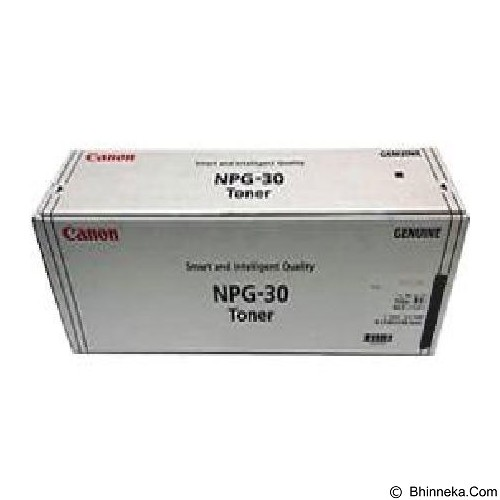 CANON Black Toner [NPG-30] (Merchant) - Toner Printer Canon