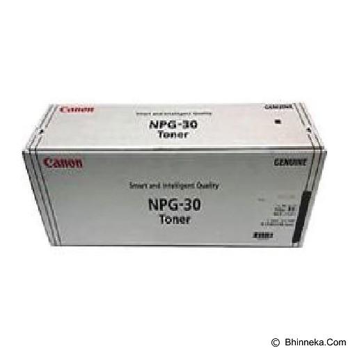 CANON Black Toner [NPG-30] (Merchant) - Toner Printer Canon