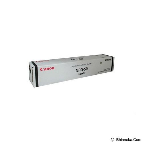 CANON Black Toner [NPG-50] (Merchant) - Toner Mesin Fotocopy Canon