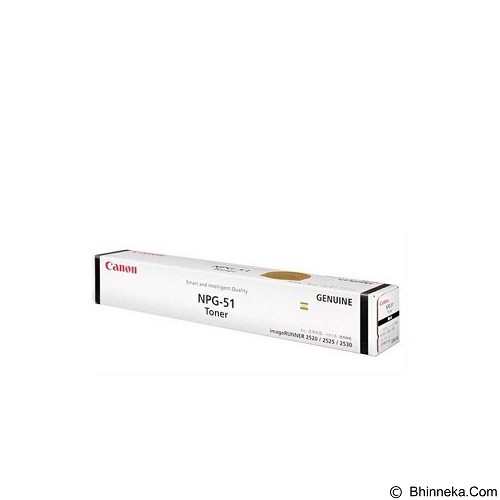 CANON Black Toner [NPG-51] (Merchant) - Toner Printer Canon