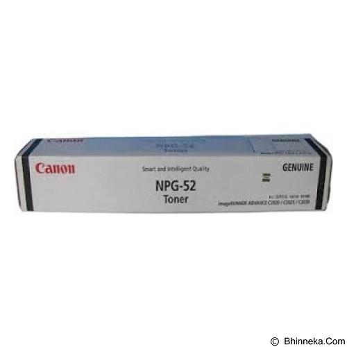 CANON Black Toner [NPG-52] (Merchant) - Toner Mesin Fotocopy Canon