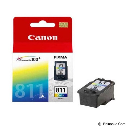 CANON Color Ink Cartridge 811 [PG811C] (Merchant) - Tinta Printer Canon