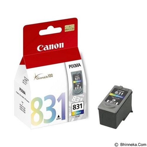 CANON Color Ink Cartridge [CL831] (Merchant) - Tinta Printer Canon