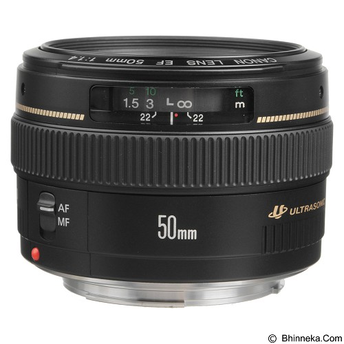 CANON EF 50mm f/1.4 USM (Merchant) - Camera Slr Lens
