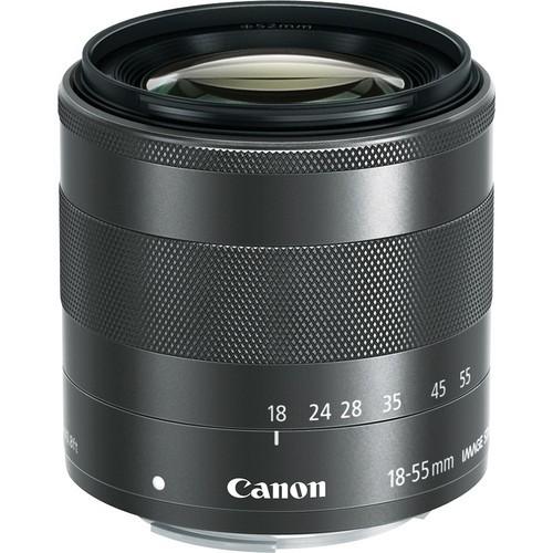 CANON EF-M 18-55mm f/3.5-5.6 IS STM - Camera Mirrorless Lens