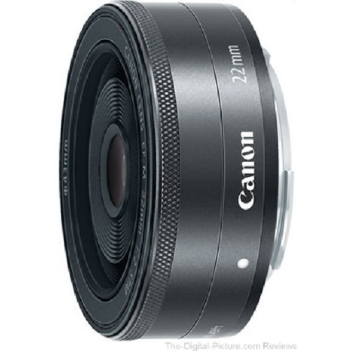 CANON EF-M 22mm f/2 STM - Camera Mirrorless Lens