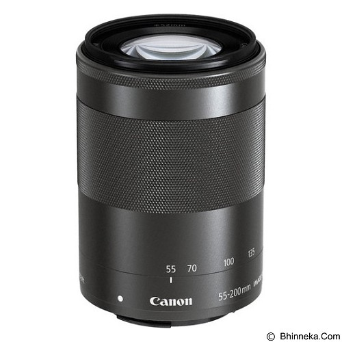 CANON EF-M 55-200mm f/4.5-6.3 IS STM Lens (Merchant) - Camera Mirrorless Lens