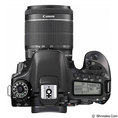 CANON EOS 80D Kit1 - Black (Merchant) - Camera Slr