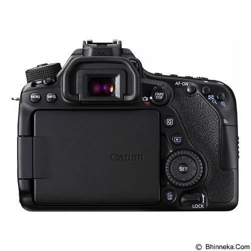 CANON EOS 80D Kit3 - Black (Merchant) - Camera Slr