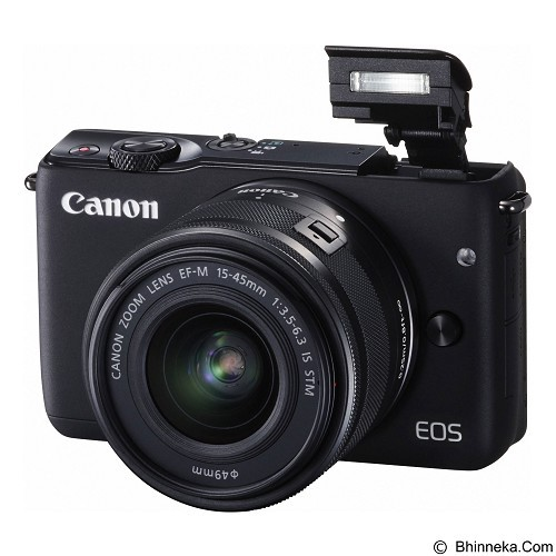 CANON EOS M10 Kit1 - Black (Merchant) - Camera Mirrorless