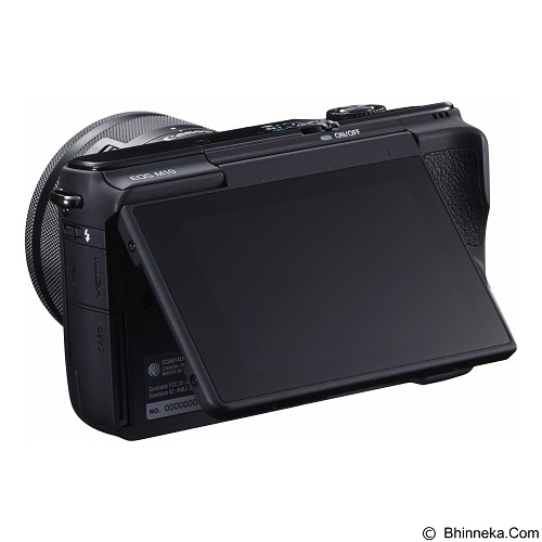 CANON EOS M10 Kit1 - Black - Camera Mirrorless