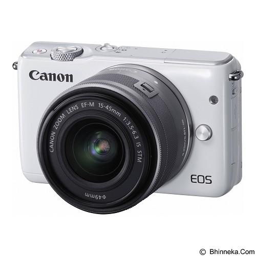 CANON EOS M10 Kit1 - White - Camera Mirrorless
