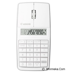 CANON Kalkulator X Mark I Mouse Slim - White (Merchant) - Kalkulator Office / Pocket