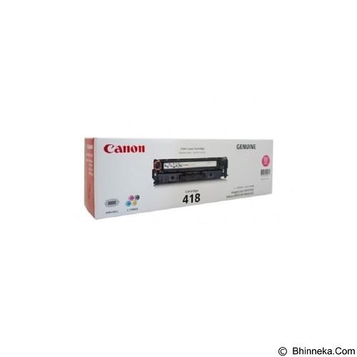 CANON Magenta Toner [418] - Toner Printer Canon