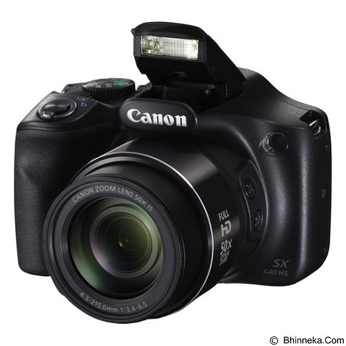 CANON PowerShot SX540 HS - Black - Camera Pocket / Point and Shot