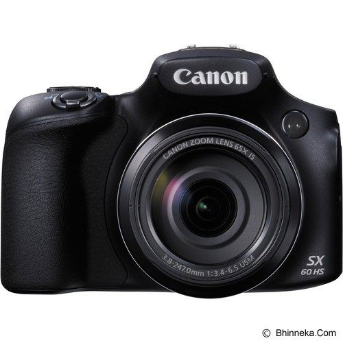 CANON PowerShot SX60 HS - Black - Camera Pocket / Point and Shot
