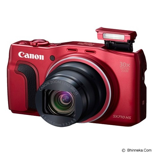 CANON PowerShot SX710 HS - Red - Camera Pocket / Point and Shot