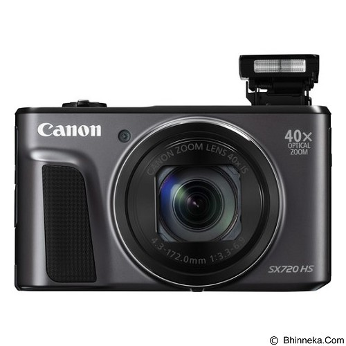CANON PowerShot SX720 HS - Black - Camera Pocket / Point and Shot