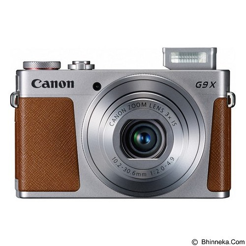 CANON Powershot G9X - Silver (Merchant) - Camera Pocket / Point and Shot