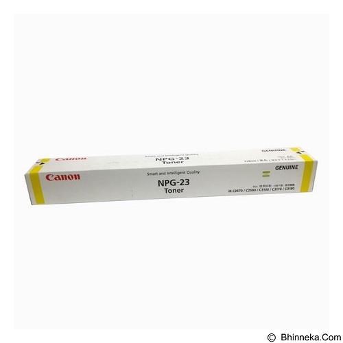 CANON Yellow Toner [NPG-23] (Merchant) - Toner Printer Canon