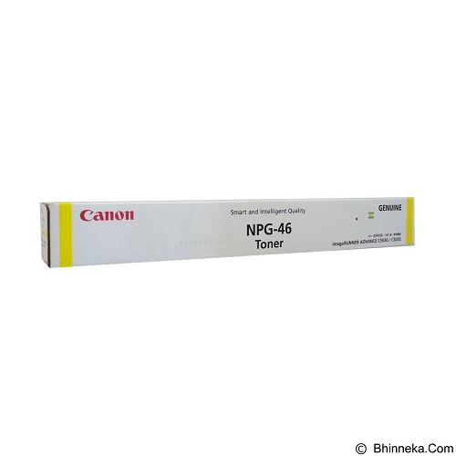 CANON Yellow Toner [NPG-46] (Merchant) - Toner Mesin Fotocopy Canon
