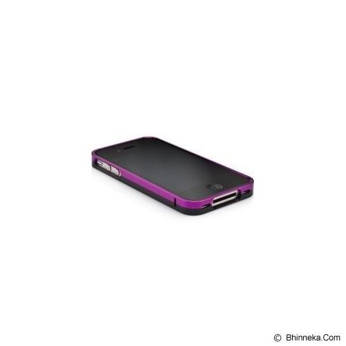 CAPDASE Alumor Bumper - Purple / Black [MBIH4-0051] - Casing Handphone / Case