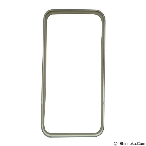 CAPDASE Alumor Bumper Thunder Casing for iPhone 6 [MBIH647-01EG] - Silver (Merchant) - Casing Handphone / Case