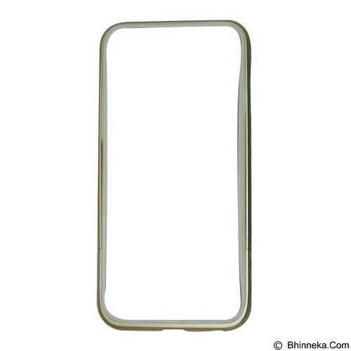CAPDASE Alumor Bumper Thunder for iPhone 6 [MBIH647-01H2] - Gold White (Merchant) - Casing Handphone / Case