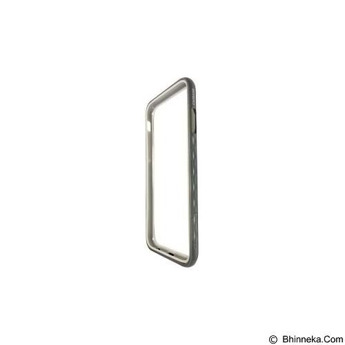 CAPDASE Alumor Bumper Tunder Casing for iPhone 6 Plus [MBIH655-01AJ] - Dark Grey (Merchant) - Casing Handphone / Case