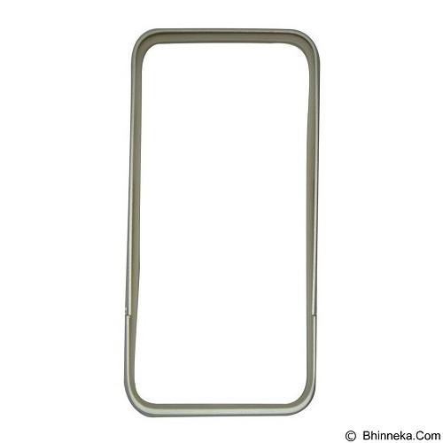 CAPDASE Alumor Bumper Tunder Casing for iPhone 6 Plus [MBIH655-01EG] - Silver (Merchant) - Casing Handphone / Case