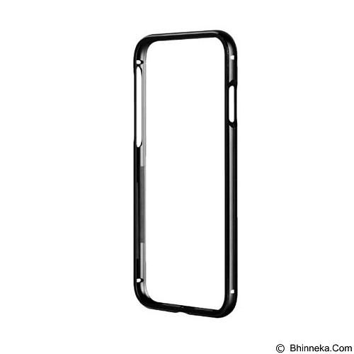 CAPDASE Alumor Bumper iPhone 7 [MBIH7-0201] - Solid Black (Merchant) - Casing Handphone / Case