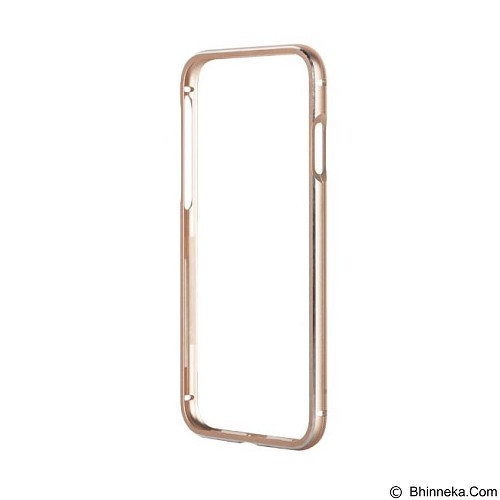 CAPDASE Alumor Bumper iPhone 7 Plus [MBIH7P-020C] - Gold (Merchant) - Casing Handphone / Case