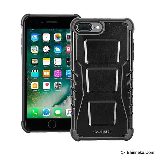 CAPDASE Armor Suit Combo Rider Jacket Newton cover For Iphone 7 Plus - Black Metallic (Merchant) - Casing Handphone / Case