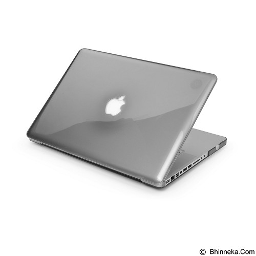 CAPDASE Body Cover for Macbook Pro 15 Inch Retina Display Clear [CCAPMB15R-1001] - Black Cristal (Merchant) - Notebook Skin