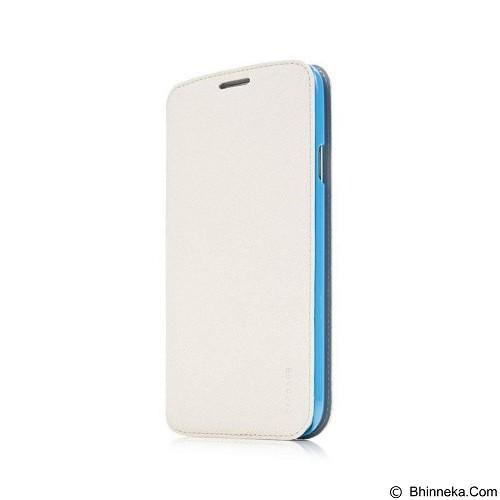 CAPDASE Case Flip Galaxy Mega 6 - 3 Folder Case Sider ID [FCSGMG63-SA23] - White (Merchant) - Casing Handphone / Case