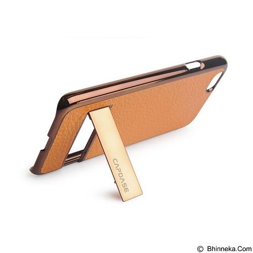 CAPDASE Chic for iPhone 6 [KPIH647-C087] - Brown/Orange - Casing Handphone / Case
