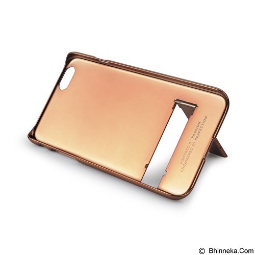 CAPDASE Chic for iPhone 6 Plus [KPIH655-C08V] - Brown/Bronze - Casing Handphone / Case