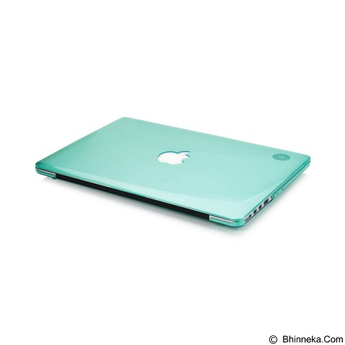 CAPDASE Cristal Case For Macbook Pro 15 [CCAPMB15S-1006] - Clear Green (Merchant) - Notebook Skin