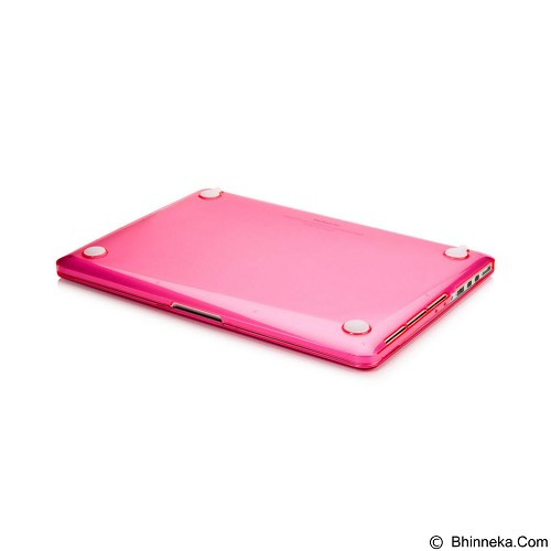 CAPDASE Cristal Case For Macbook Pro 15 [CCAPMB15S-1009] - Clear Red (Merchant) - Notebook Skin