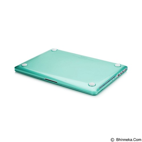 CAPDASE Cristal Casing for Macbook Pro 13R [CCAPMB13R-1006] - Clear Green (Merchant) - Notebook Skin