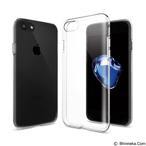 CAPDASE Cristal Crystal Jack Casing for Apple iPhone 7 [CJIH7-ARC0] - Clear (Merchant) - Casing Handphone / Case