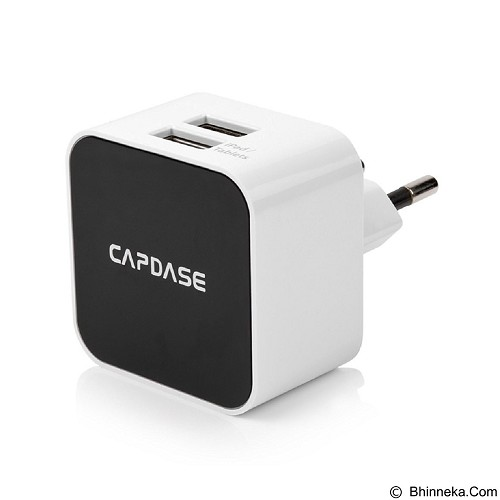 CAPDASE Cube K2 Dual USB Power Adapter & Cable [TKCB-B102-EU] - Universal Charger Kit