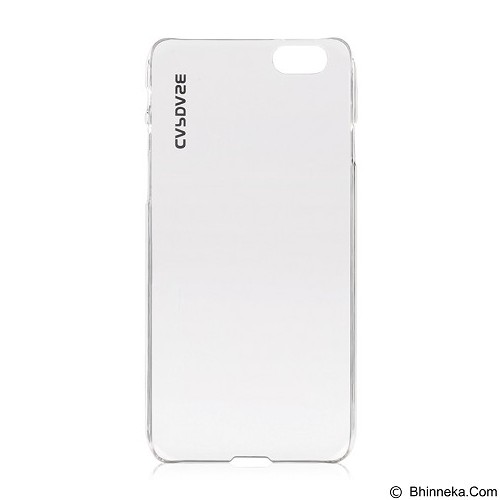 CAPDASE Finne DS for iPhone 6 [KPIH647-F600] - Clear/Tinted White - Casing Handphone / Case