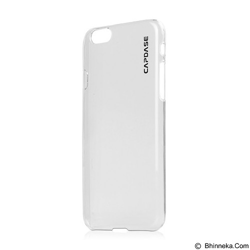 CAPDASE Finne DS for iPhone 6 Plus [KPIH655-F600] - Clear/Tinted White - Casing Handphone / Case