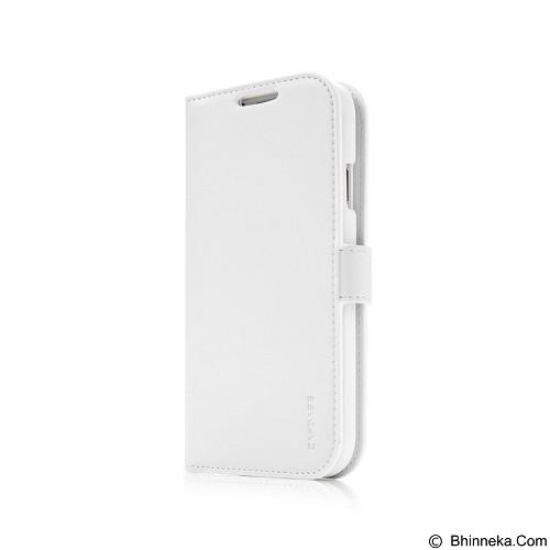 CAPDASE Folder Case Galaxy S5 Sider Classic [FCSGS5-S422-BB] - White (Merchant) - Casing Handphone / Case