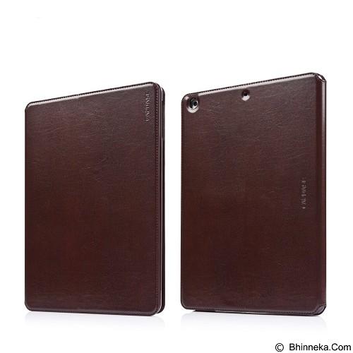 CAPDASE Folder Case Real Leathery Apple iPad Air [FCAPIPAD5-2U08] - Brown (Merchant) - Casing Handphone / Case