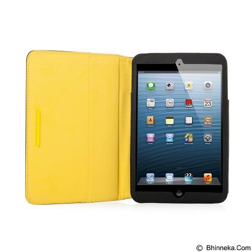 CAPDASE Folder Case Rotate Folio Canvas for iPad Mini [FCAPIPADM-131E] - Black (Merchant) - Casing Handphone / Case