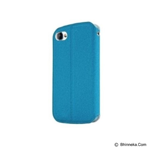 CAPDASE Folder Case Sider Baco Casing for BB Q5 [FCBBQ5-SB33-BB] - Blue (Merchant) - Casing Handphone / Case