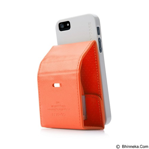 CAPDASE Folder Upper Polka Casing for iPhone 5 [FCIH5-UP7G] - Orange (Merchant) - Casing Handphone / Case